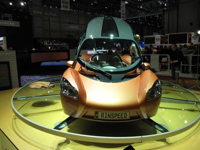 Le Rinspeed iChange : un Concept intelligent et non polluant !