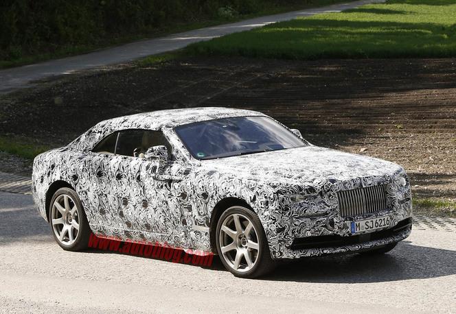 Surprise :  Rolls-Royce va découvrir sa Wraith