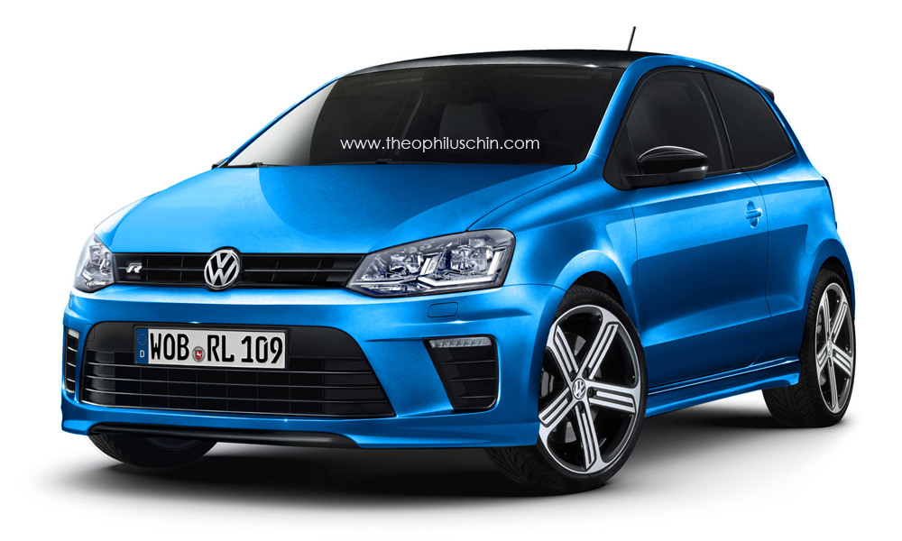 future volkswagen polo r comme a. Black Bedroom Furniture Sets. Home Design Ideas