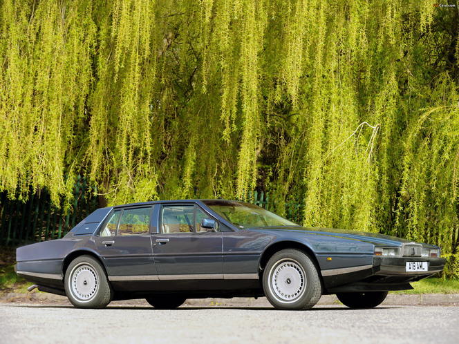 Surprise : voici la future Aston Martin Lagonda !