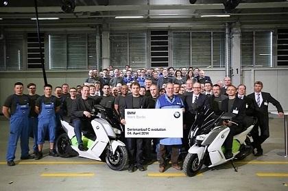 Nouveauté - BMW: c'est parti pour la C Evolution électrique