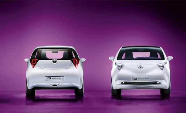 Toyota iQ : une campagne de promotion musclée