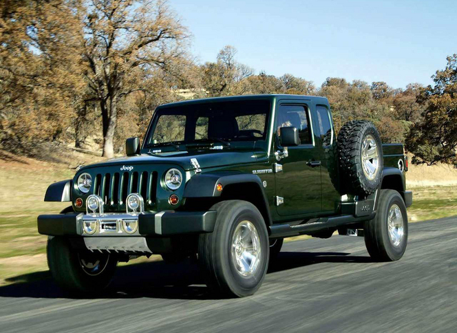 Jeep : un pick-up sur base de Wrangler à venir ?