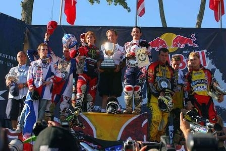 Le team USA pour le Motocross des Nations