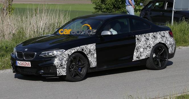 Surprise : la future BMW M2 de sortie