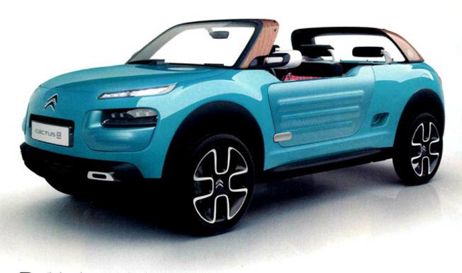 Le concept Citroën Cactus M en fuite
