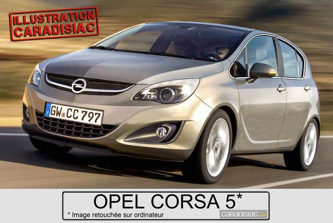 Chez Opel, la nouvelle Corsa arrive en 2015