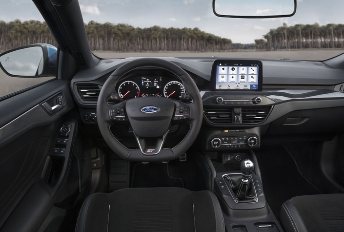 Ford dévoile la nouvelle Focus ST avec 280 ch