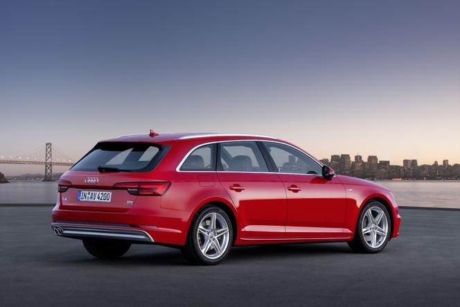 Salon de Francfort 2015 - Audi A4 Avant: coffrée !