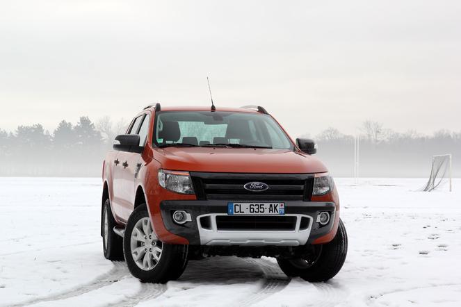 Ford Ranger Wildtrak au quotidien : jour 3, sur nationales enneigées