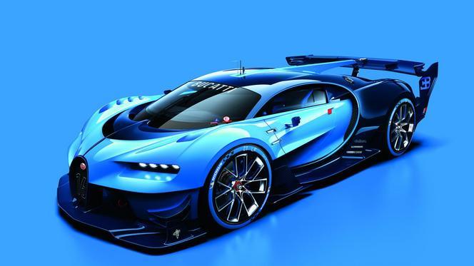 Salon de Francfort 2015 - Bugatti Vision Gran Turismo Concept : radical