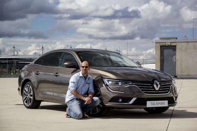 La Renault Talisman livrée à la rédaction de Caradisiac