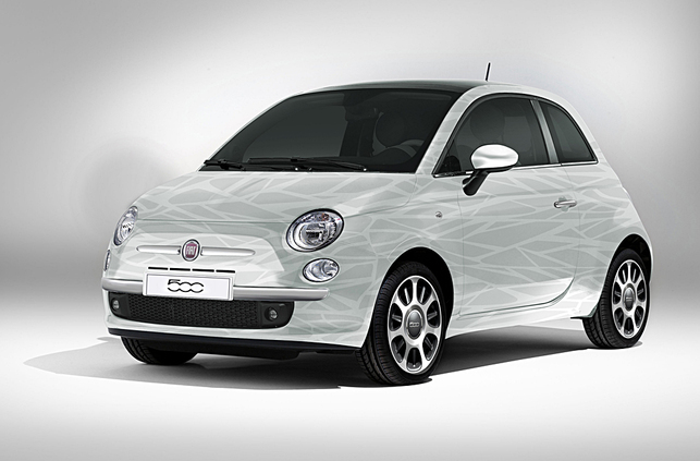 zoom sur la future fiat 500 hybride. Black Bedroom Furniture Sets. Home Design Ideas