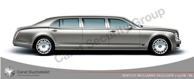 Bentley Parangon par Carat Duchatelet: sans fin