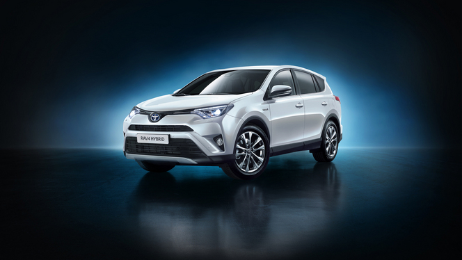 Salon de Francfort 2015 - Toyota RAV4 hybride : le costaud écolo