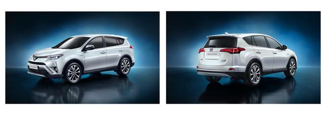 Salon de Francfort 2015 - Toyota RAV4 hybride : le costaud écolo