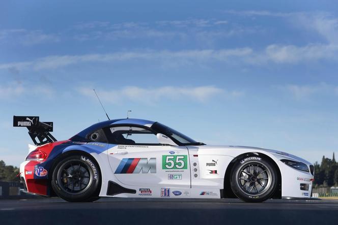 BMW présente sa nouvelle Z4 GTE
