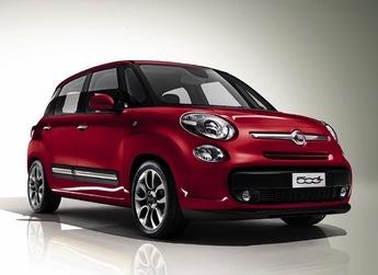 Le Fiat 500 L tel qu'il est apparu au printemps 2012.