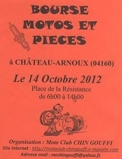 "Le calendrier des ""Bourses motos"" d'octobre"