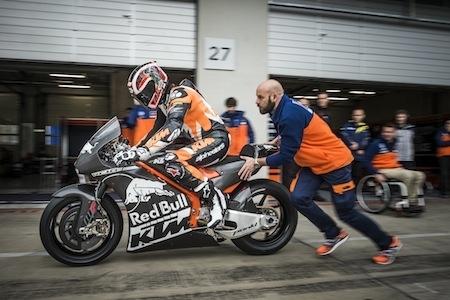 KTM: lancement réussi pour la RC16 MotoGP