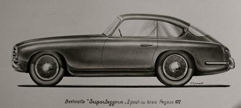 Pegaso Z102B - Sketch.