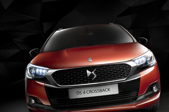Salon de Francfort 2015 - DS4 Crossback: baroud chic