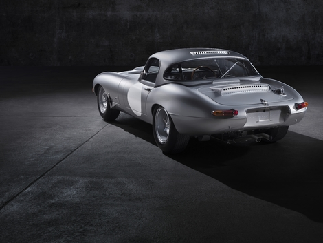 Jaguar E-Type Ligntweight.