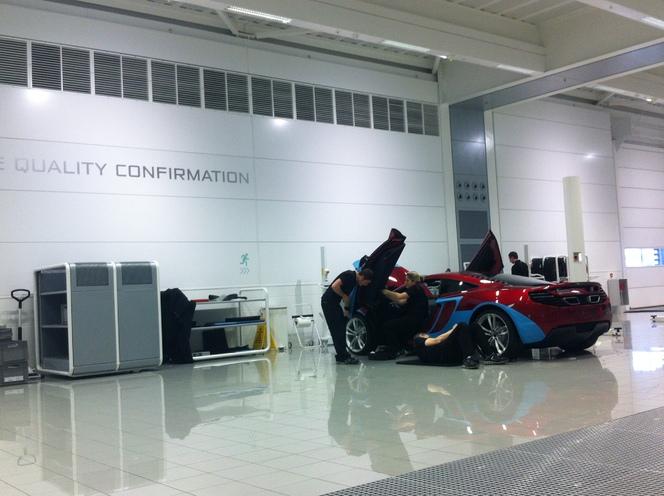 Présentation de la McLaren MP4-28 2013 : ce que vous n'avez pas vu à la télé