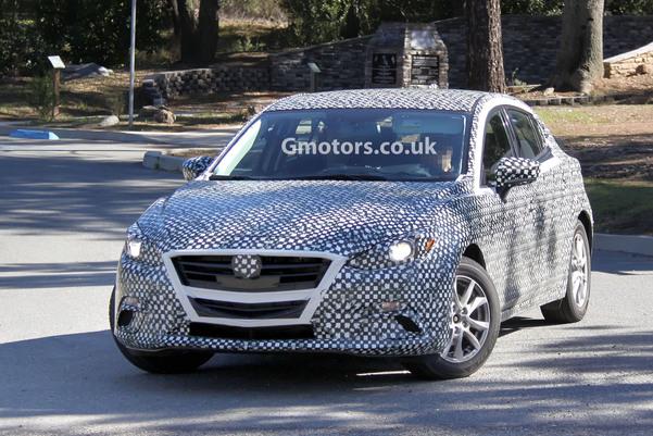 Surprise : la future Mazda3 pour la première fois