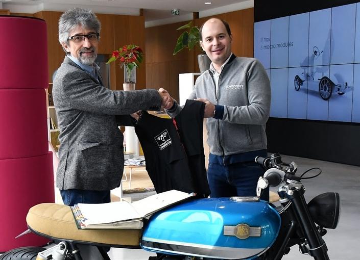 La Mutuelle des Motards et In&motion signent un accord de partenariat