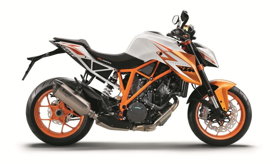 En direct du salon de Milan 2015 : KTM Super Duke R 1290 spéciale édition