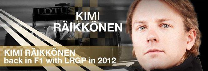 F1 : Kimi Räikkönen revient chez Lotus