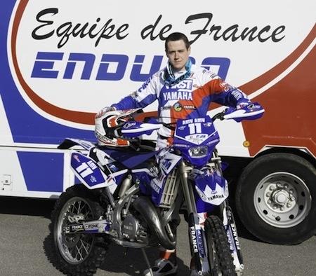 Enduro: Le 1ère Classe Abgrall champion d'Europe Junior E1
