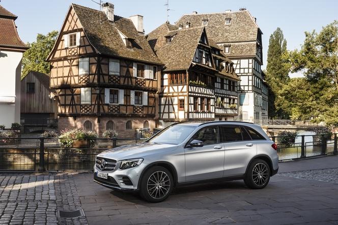 Salon de Francfort 2015 – Mercedes GLC : pour venger le GLK