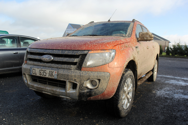 Ford Ranger Wildtrak in everyday life: day 5, the mud, the angle and
