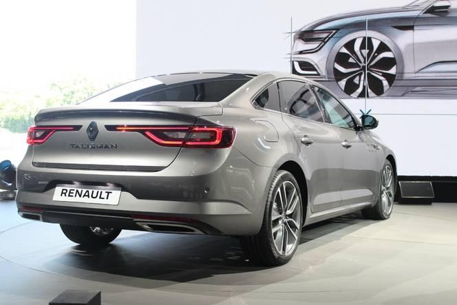Salon de Francfort 2015 – Renault Talisman : nouvelle star