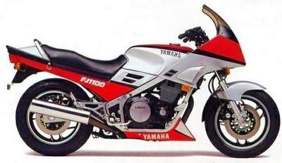 Yamaha FJ 1100 : 125 cv avant la « castration »…