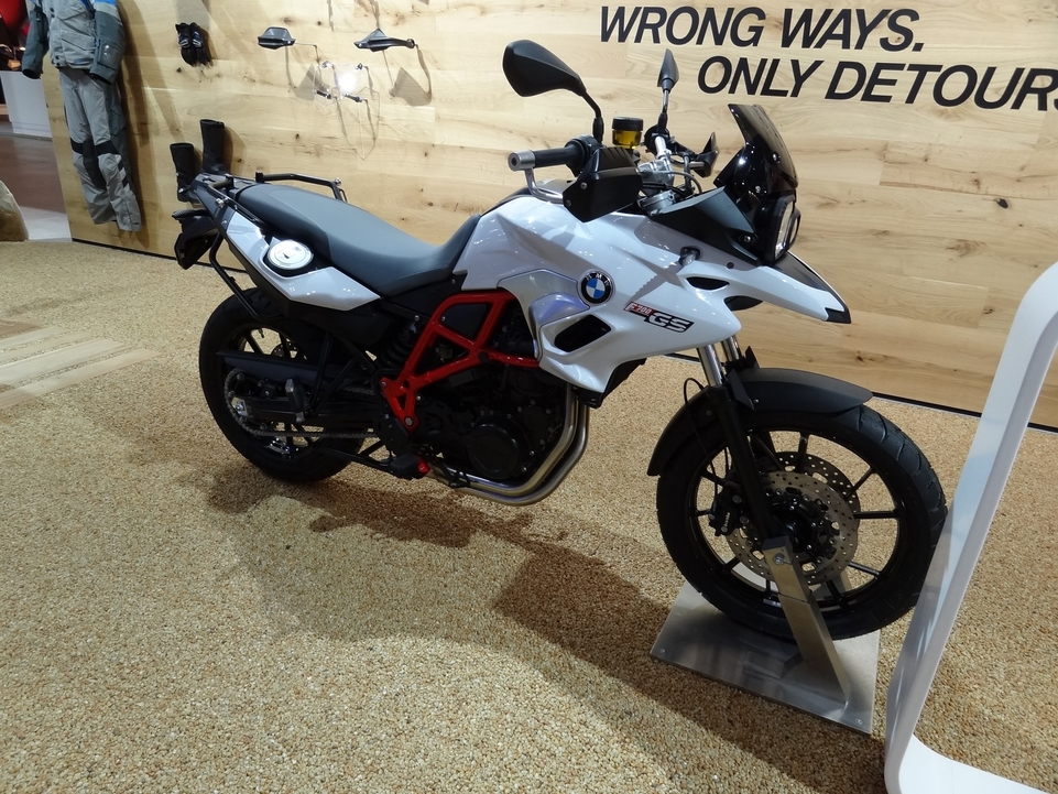 En direct du Salon de Milan 2015 : BMW F700 GS ET 800 GS