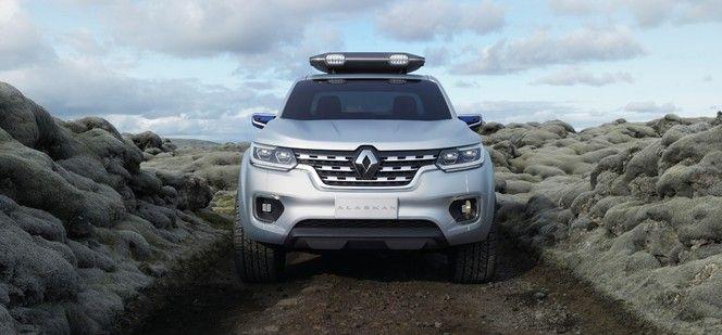 Renault se lance dans le pickup avec l'Alaskan Concept