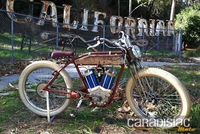 Juicer 48V : quand une moto ancienne croise la route d'un vélo électrique…
