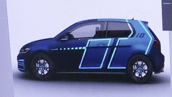 Worthersee 2017 : le concept de Volkswagen Golf GTI s'annonce