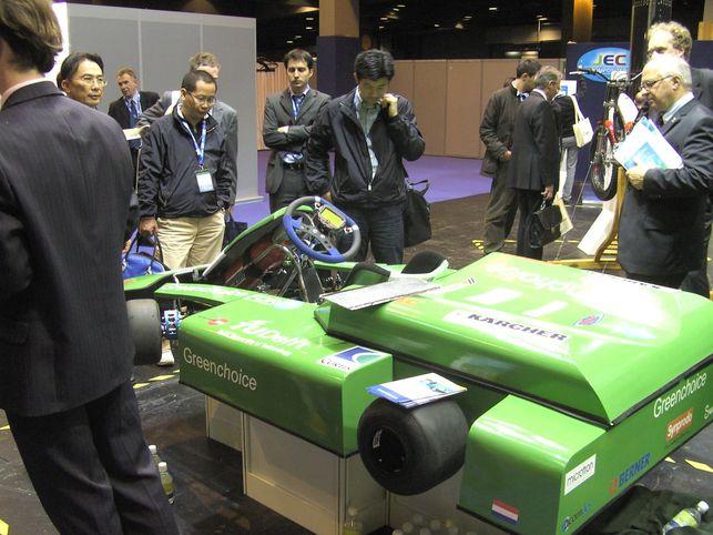 Formula Zero : un kart doté d'une pile à combustible