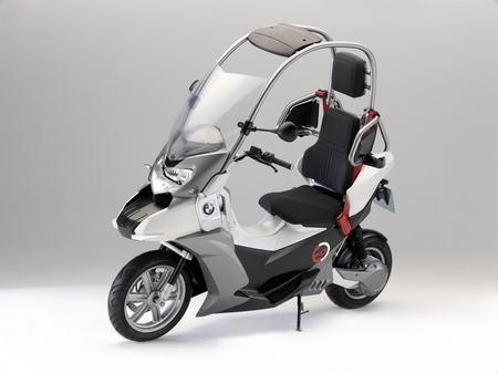 Concept BMW C1-E : Vous voilà au courant...