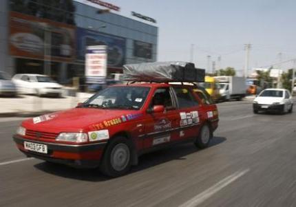 De Londres à Athènes, des autos ont roulé à l'huile de friture recyclée