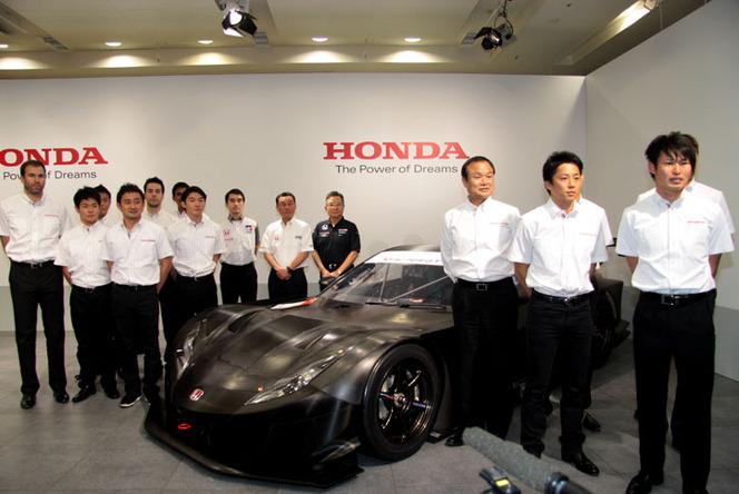 La nouvelle Honda NSX en Super GT dès 2014!