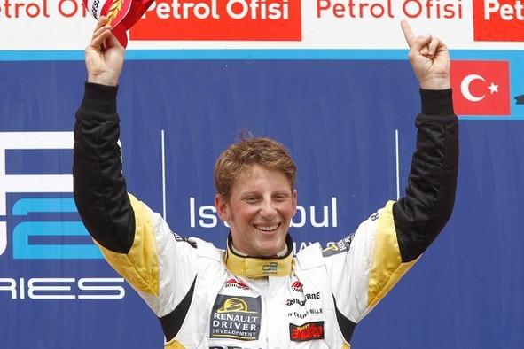 GP2 Istanbul Course 2 : Grosjean première !