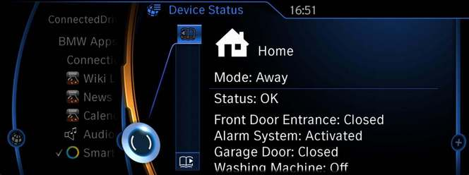 BMW présente une application capable de contrôler une maison connectée