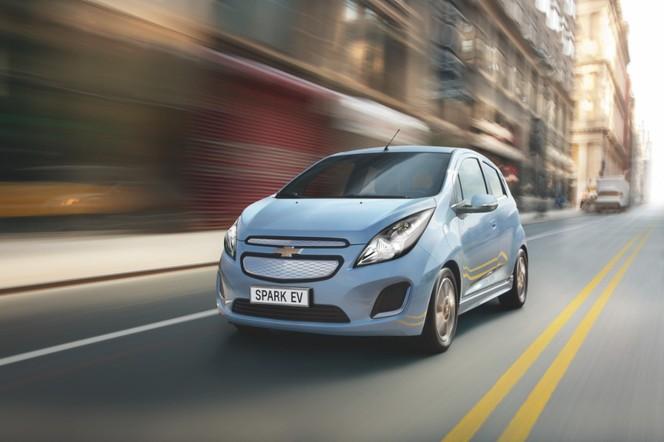 Genève 2013 : la Chevrolet Spark en version électrique