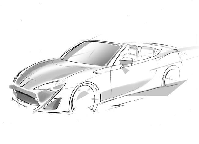 Toutes les nouveautés de Genève 2013 - Toyota Concept FT-86 Open : de l'air