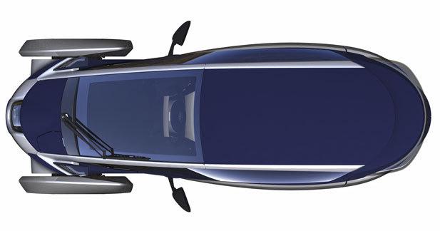 Toutes les nouveautés de Genève 2013 - Toyota i-Road Concept : futuriste